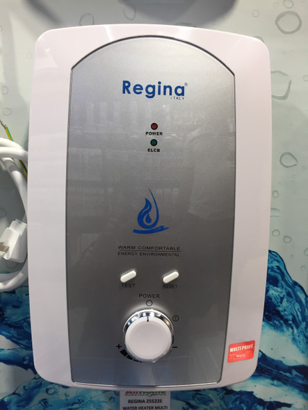 REGINA Z5522E WATER HEATER MULTI POINT 5.5KW