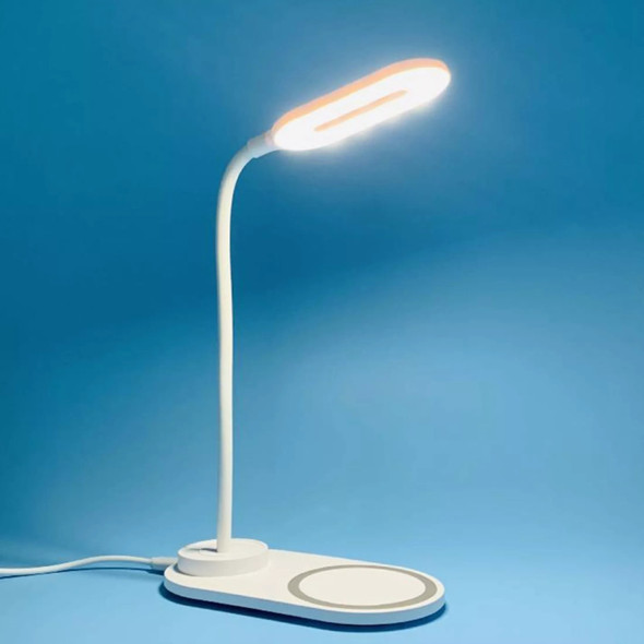 OPPO DL-001 Wireless Charging LED Portable Table Desk Lamp - White