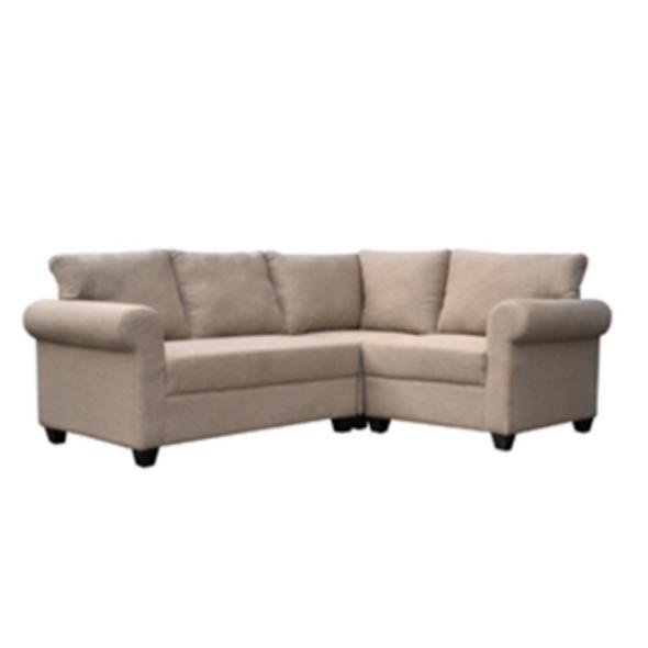 Acriza L-Shape Sofa Set In Fabric