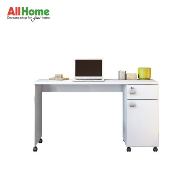 Demalta White Office Desk