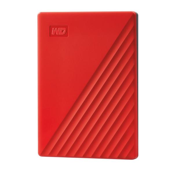 WESTERN DIGITAL My Passport 2TB External Hard Drive Red