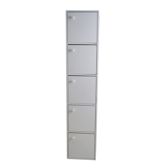 Maxi IV 5 Tier Cabinet with Door