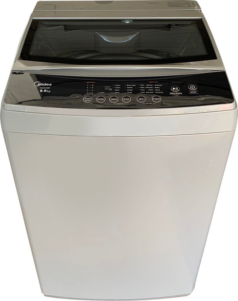 Midea Topload Washing Machine 8KG MAS01W80