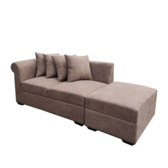 Adian 2 Seater Sofa with Ottoman