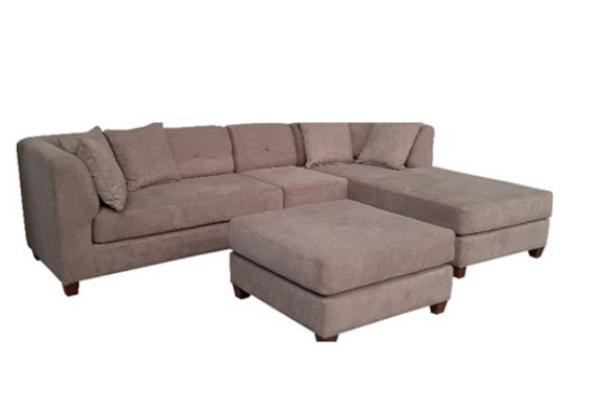 RAGNAR  Corner Sofa Set with ottoman