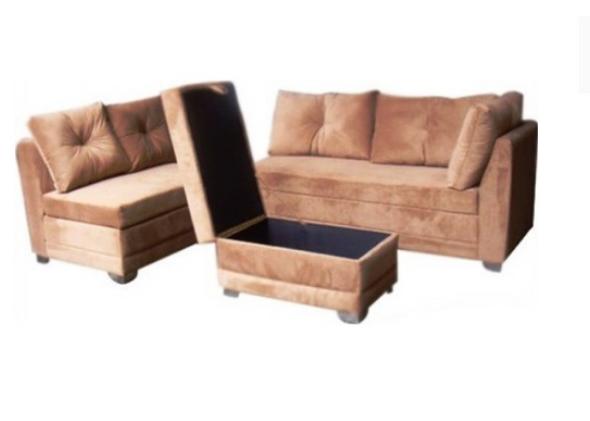 HEMADY corner sofa set