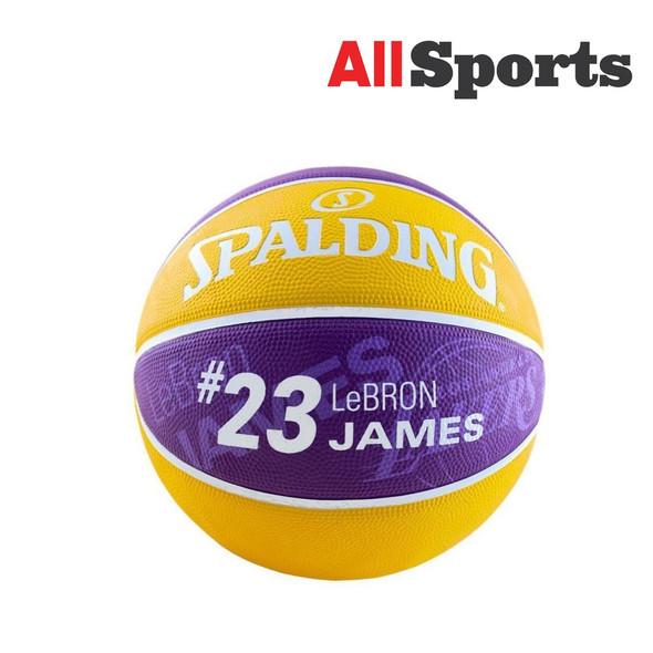 SPALDING NBA PLAYER LEBRON JAMES #23