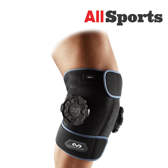 MCDAVID 231B TRUE ICE THERAPY KNEE/LEG WRAP BLACK ONE SIZE