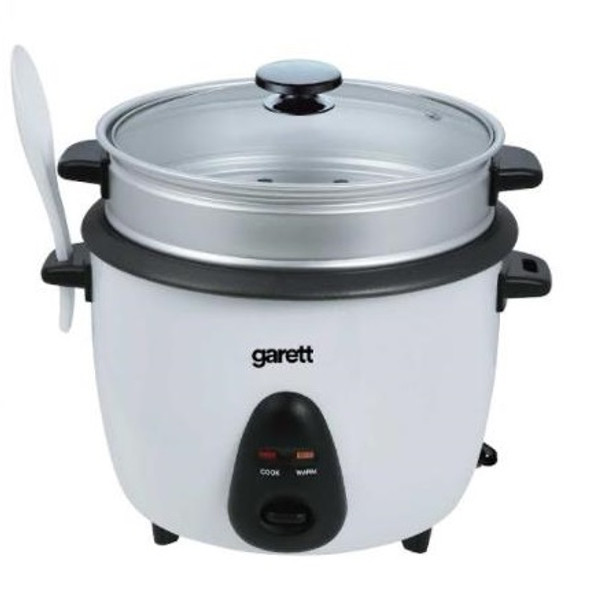 Garett Rice Cooker 10cups with Steamer