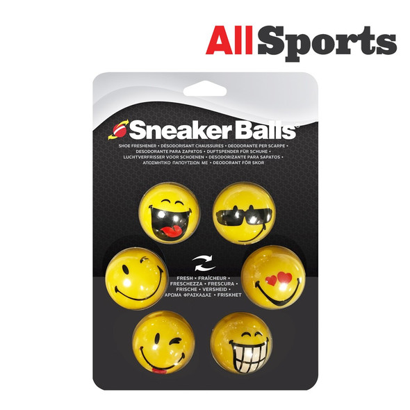 208772 SNEAKER BALLS FACES BONUS PACK 6 PIECES