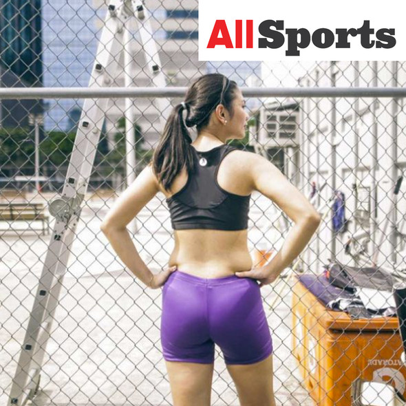 ALLSPORTS-WOMANLY LCS LADIES COMPRESSION SHORTS