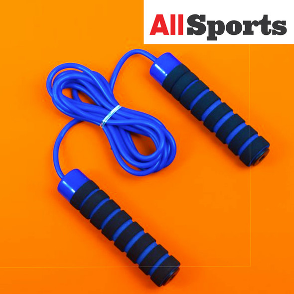 ALLSPORTS-MANLY MJR008 JUMPING ROPE BLUE RED