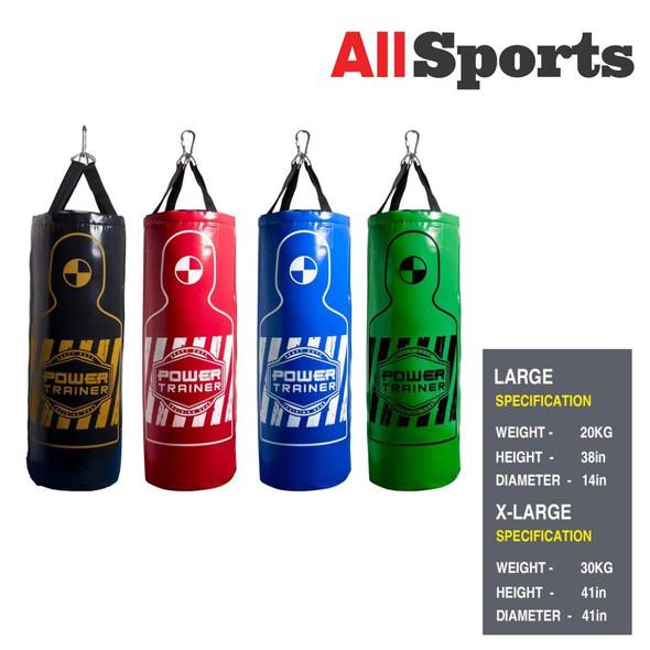ALLSPORTS-PUNCHING BAG XL BLACK