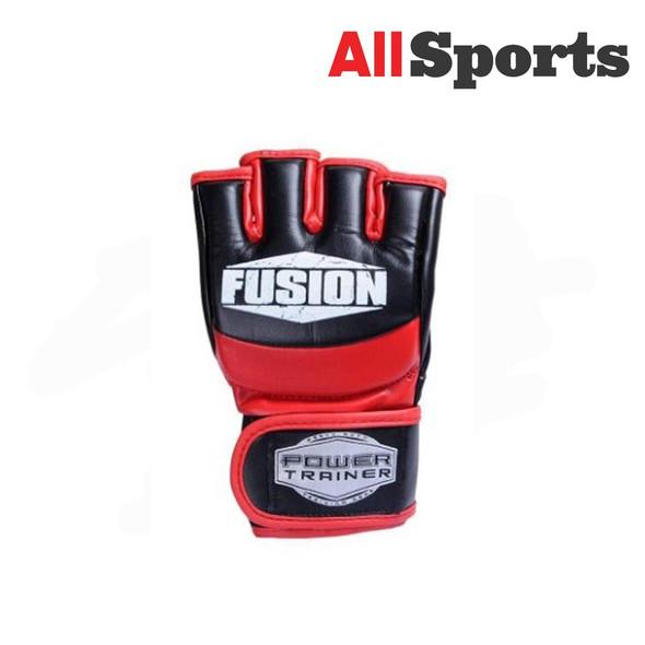 ALLSPORTS-FUSION MMA GLOVES BLACK/RED
