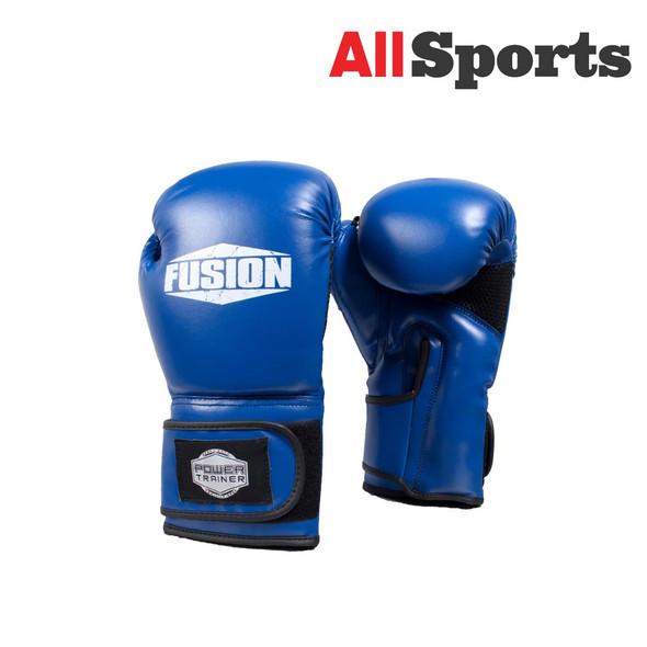 ALLSPORTS-FUSION FIGHTER GLOVES BLUE/BLACK