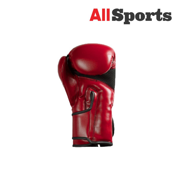 ALLSPORTS-FUSION FIGHTER GLOVES RED/BLACK