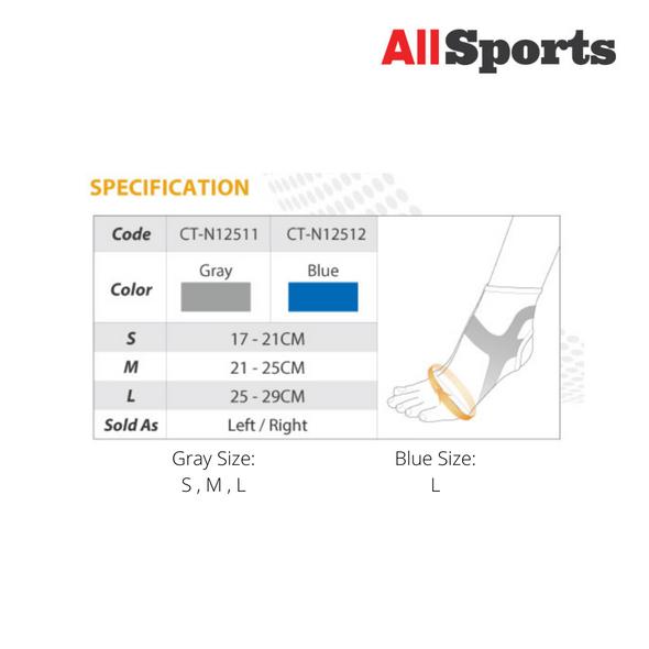 ALLSPORTS-BODY VINE CT-12512 TRIPLE-COMPRESSION ANKLE