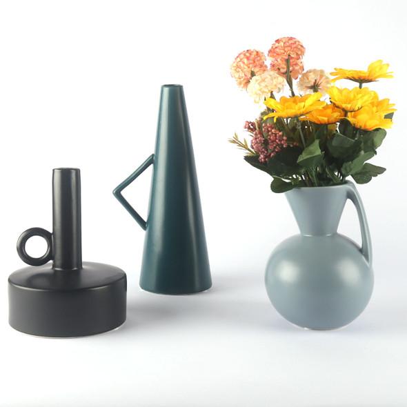 Minimalist Nordic Modern Style Ceramic Vase