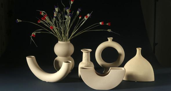 Ceramic Vase Nordic Minimalism Style Design