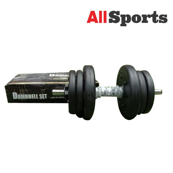 ALLSPORTS-MUSCLE POWER DUMBELL SET 10KG