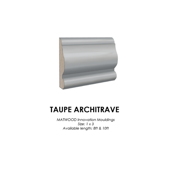 MATWOOD Innovation Taupe Architrave Treated