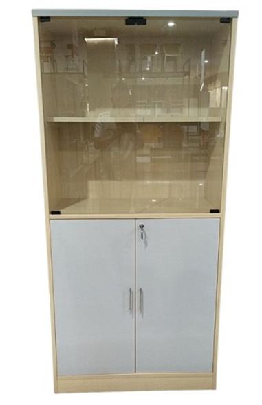 Adler Office Cabinet With Glass Door