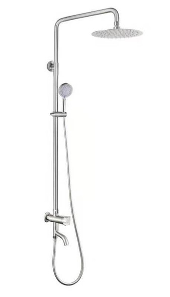 FLUXO AHFL-BF5202-SS Cold Type Shower Set with Faucet