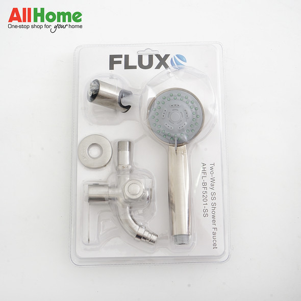 FLUXO AHFL-BF5201-SS Two-Way SS Shower with Faucet