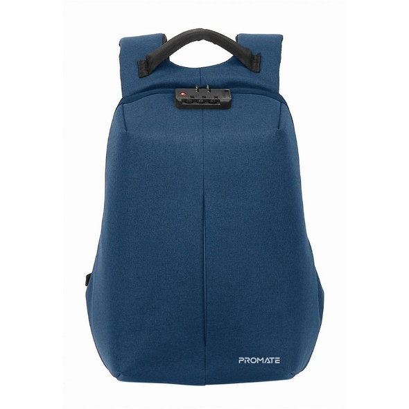 """PROMATE Defender-13 Anti-Theft with USB Charging Port 13"""" Laptop Bag Blue"""