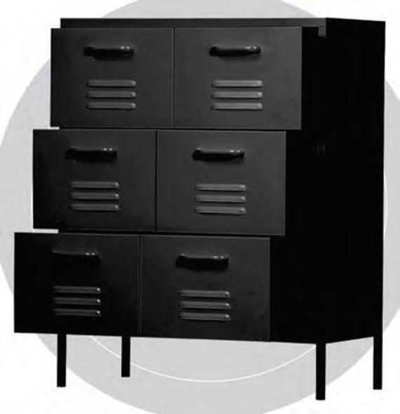 Neo II 6 Steel Drawer Cabinet  WLS-H3