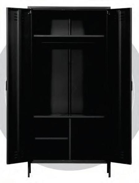 Neo III  2 Door Steel Wardrobe  WLS-H4