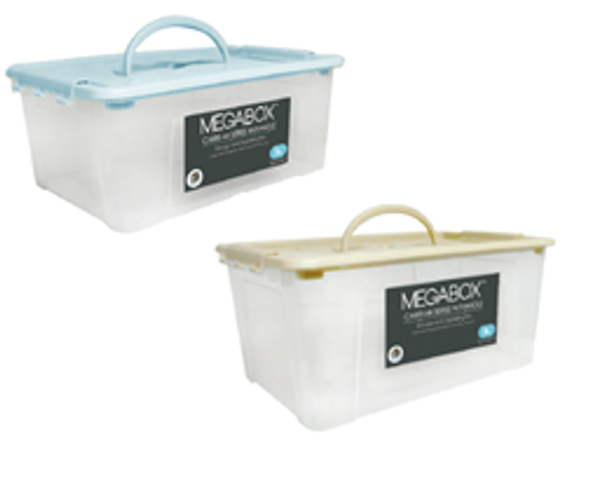 MEGABOX CARRI-MI SERIES WITH HANDLE 5L
