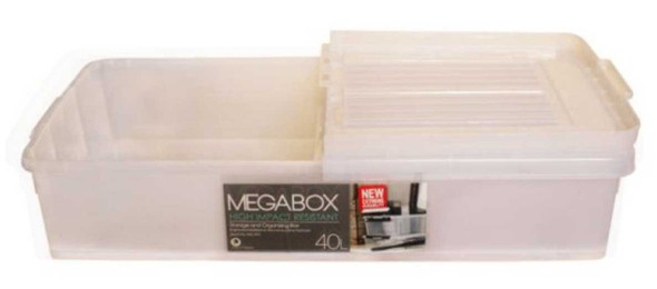 MEGABOX 40L UNDER BED STORAGE BOX
