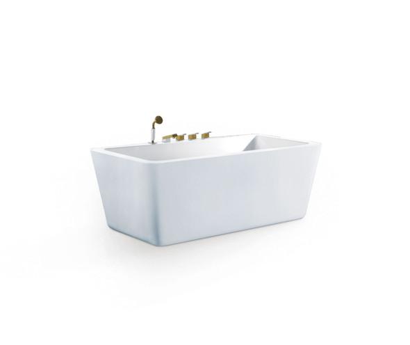 TEUER JAGER BT9658 FREE STANDING BATHTUB
