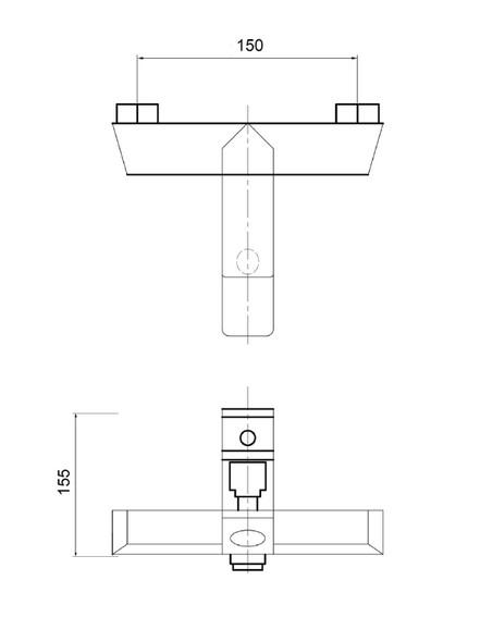 TEUER GALLI SF-LD1403 CHROME BATH & SHOWER