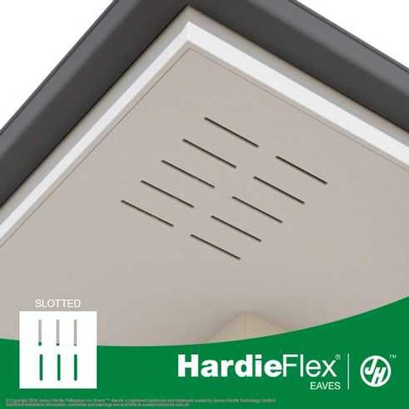 Hardieflex Eaves Slotted 1200X600X4.5MM