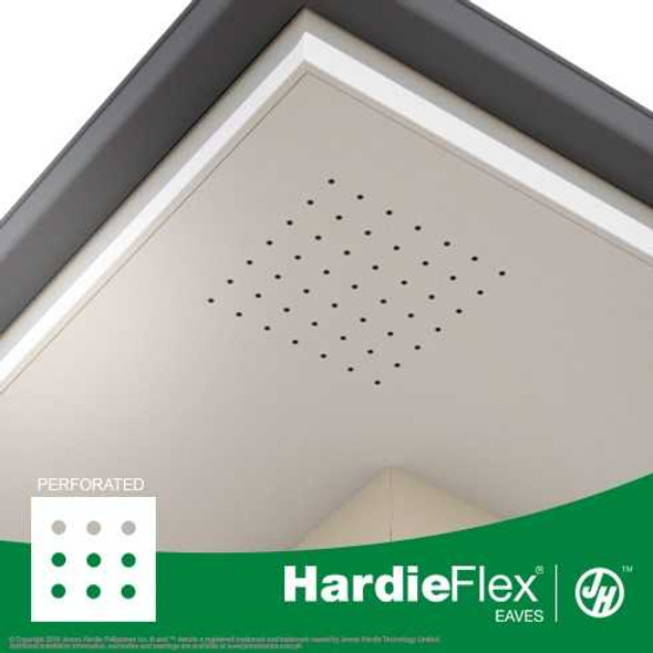 Hardieflex Eaves Perforated 1200X600X4.5MM