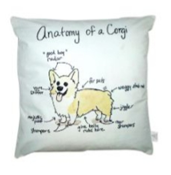 """Style & Collection  17""""x17"""" Corgy Suede Throw Pillow Case"""
