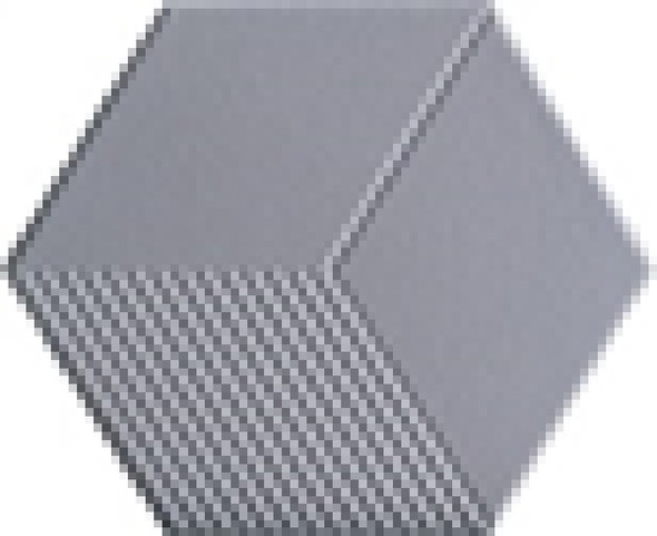 LUSTRO CMT 115X200X230 A003H HEX LT. GREY