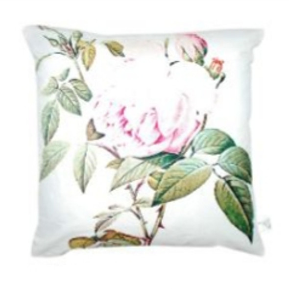 "Style & Collection  17""x17"" Peony Suede Throw Pillow Case"