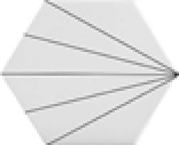 LUSTRO CMT 115X200X230 A025 HEX RAYS WHITE