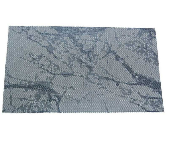 Black Marble Design PVC Placemat