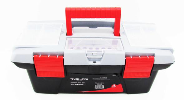 TOUGH NOTCH AHT68 PLASTIC TOOL BOX 335X185X130MM