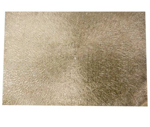 Gold Leatherette  Placemat