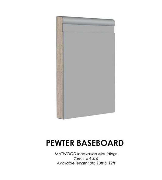MATWOOD Baseboard 1x4 Inches