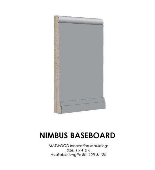 Matwood Baseboard 1x6 Inches