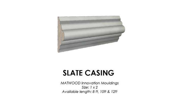 Matwood Casing 1x2 Inches