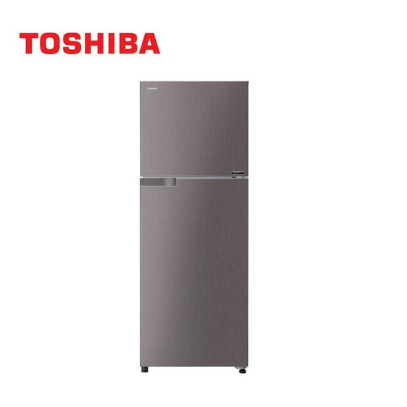 Toshiba 15 Cu Ft 2 Door Inverter Refrigerator GR-A46P (DS) (FREE 20L WHITE MICROWAVE OVEN)