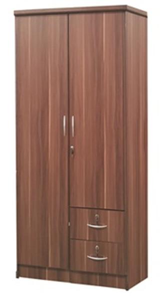 Martin II 2 doors Wardrobe Cabinet