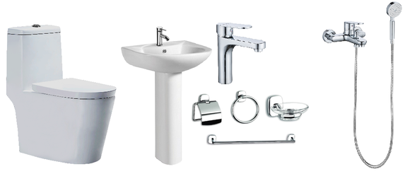 BRAUHN HELENE 6673 MODERN PACKAGE W/ SHOWER